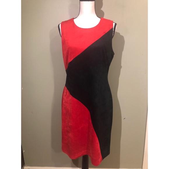 Calvin Klein Dresses & Skirts - Calvin Klein - Red Black